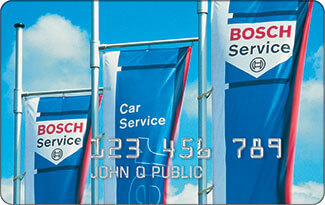 Bosch Service Credit Card